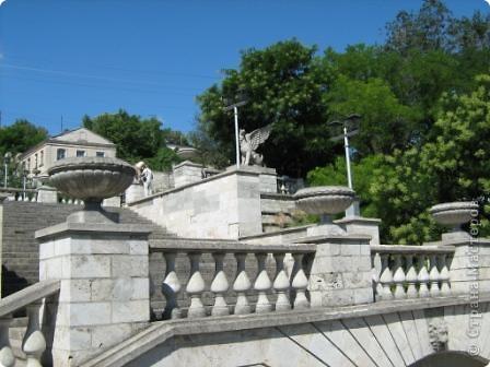 Беседка-символ города Щёлкино фото 17