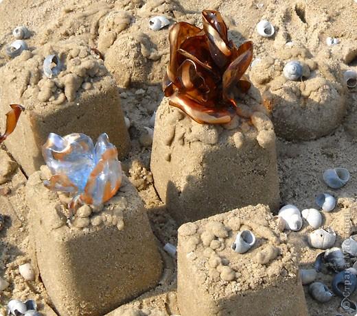 Вот такие чудеса вытворяем из песка. фото 4