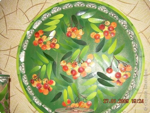 """Набор для кухни """"уральская рябинушка"""" фото 1"""