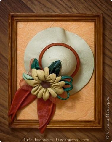 Декоративная шляпка.