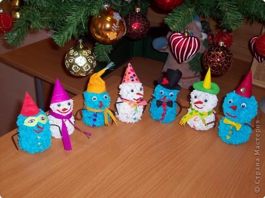 Друзья-снеговички пришли поздравить ребят с НОВЫМ ГОДОМ!   фото 1