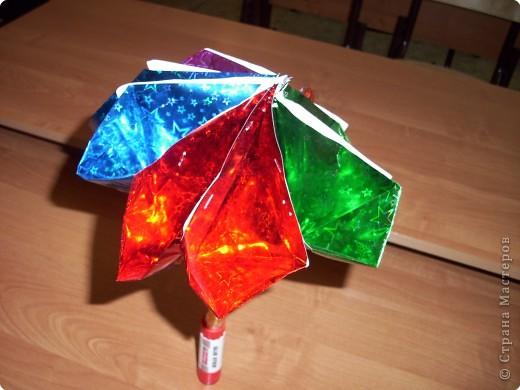 Зонтик волшебно-новогодний