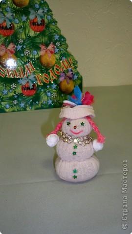 Модная снеговичка фото 1