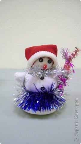 Снеговик на маскараде фото 1