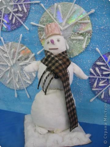 Мой снеговик.