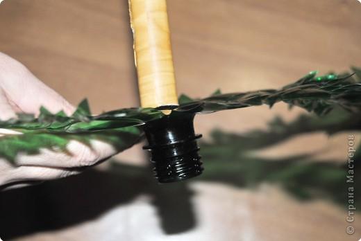 1.Беру пластмассовые зеленые бутылки. фото 15