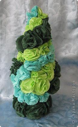 Елочка в зеленом платьице