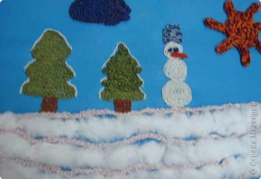 Снеговичок ждет друзей
