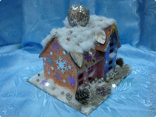 Зимний домик для феи яблоневого сада фото 2