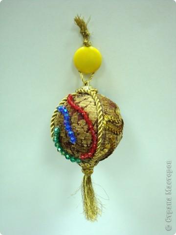 """Елочный шарик """"Венецианский карнавал"""" фото 2"""