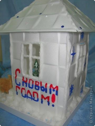 «Снежный ночник» дом Деда Мороза фото 1