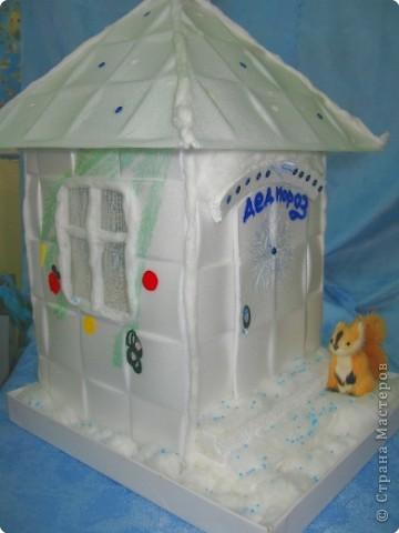 «Снежный ночник» дом Деда Мороза фото 2