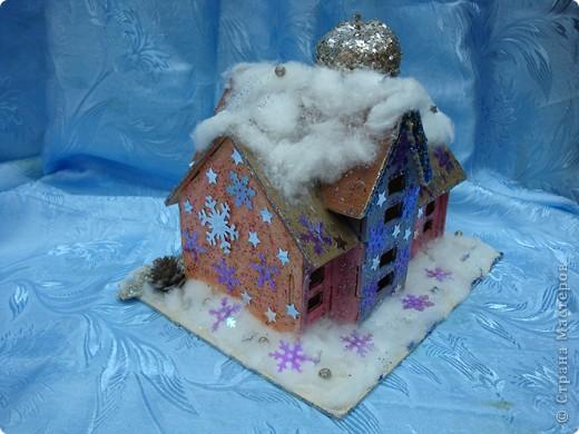 Зимний домик для феи яблоневого сада фото 4