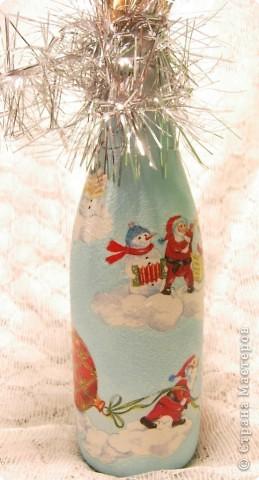 Бутылочка на Новый год фото 2