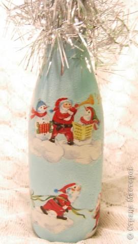 Бутылочка на Новый год фото 3