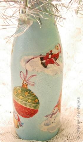 Бутылочка на Новый год фото 4