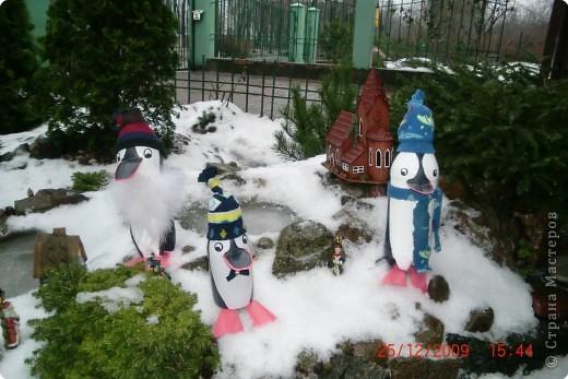 """Ёлочная игрушка """"Пингвин"""" фото 2"""