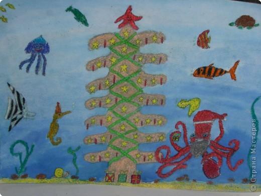 Новый год в подводном царстве!