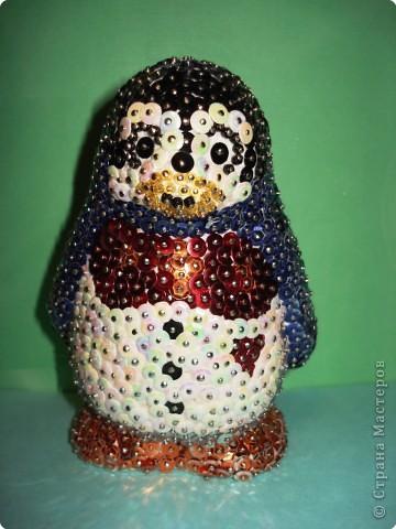 Такой пингвинёнок Лоло - любимый персонаж Сони - украсит любую Новогоднюю ёлку.