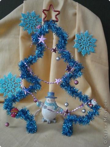 Снеговичок под ёлкой