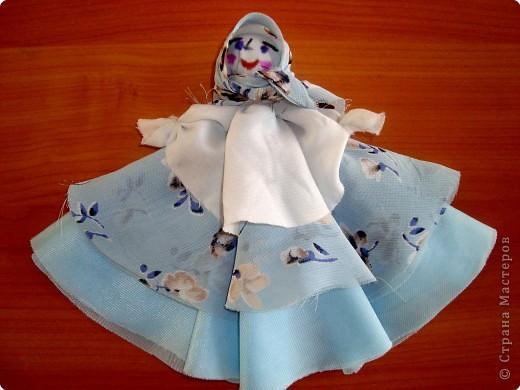 Голубой колокольчик-куколка.