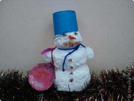 Мой дружок - снеговичок