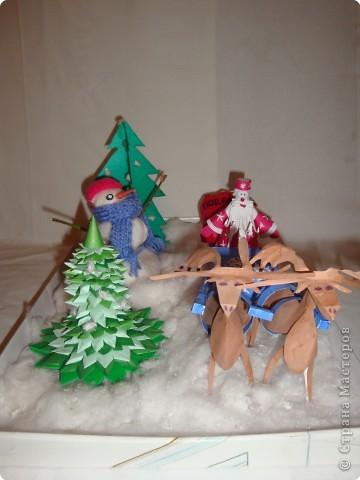 Спешит на елку Дед Мороз