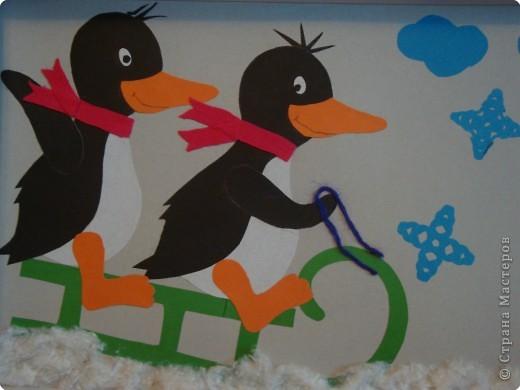 Веселые пингвины