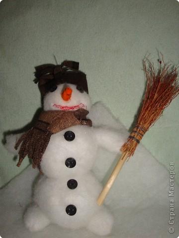 Снеговичок-трудовичок