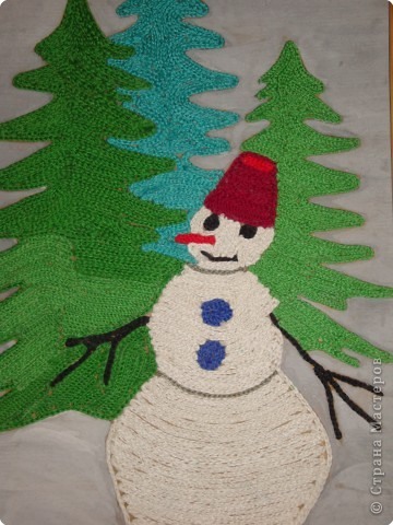 Лесник-снеговик