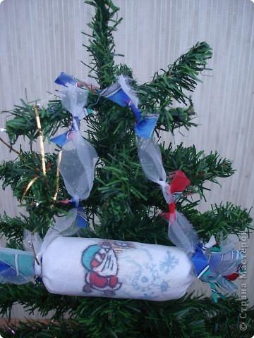 """Новогодняя конфетка """"Дед Мороз"""" фото 1"""