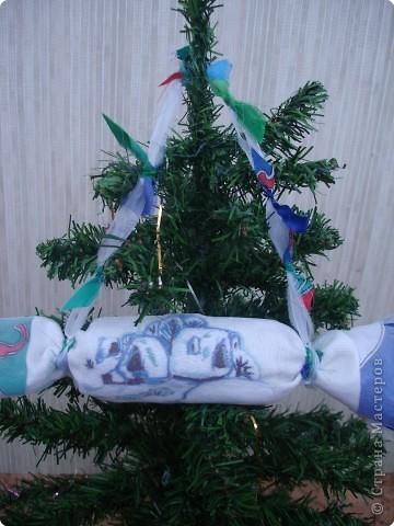 """Новогодняя конфетка """"Дед Мороз"""" фото 2"""