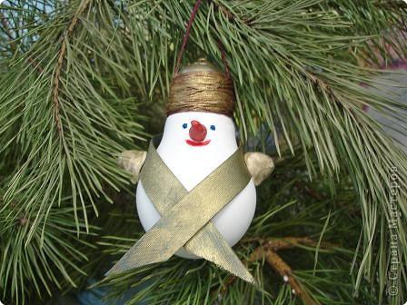 Снеговик волшебный