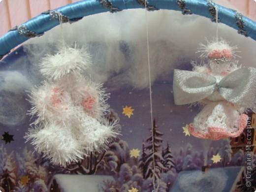 """Общий вид. Это большая работа. Трудились над ней всем нашим дружным коллективом более месяца.  Композиция """"Рождество"""" сделана в подарок всем жителям  и гостям г.Строитель к Новому Году и Рождеству. Находится на выставке в Православном центре. фото 8"""