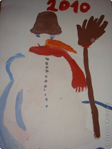 Тигруля и его друг Снеговичок фото 2