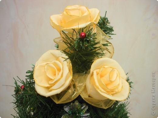 Цветы сделаны в подарок нашему директору. фото 1