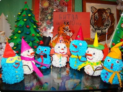 Друзья-снеговички пришли поздравить ребят с НОВЫМ ГОДОМ!   фото 2