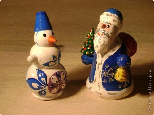 Вот, собственно, и сам Снеговичок. фото 2