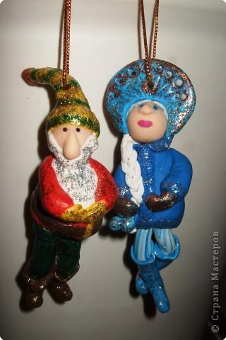Дед Мороз и Снегурочка в стиле диско фото 1
