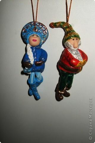 Дед Мороз и Снегурочка в стиле диско фото 2