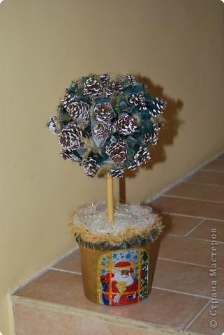 Необычное Новогоднее дерево.