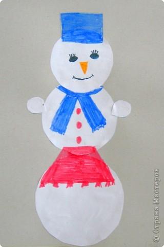 Трудолюбивый Снеговик