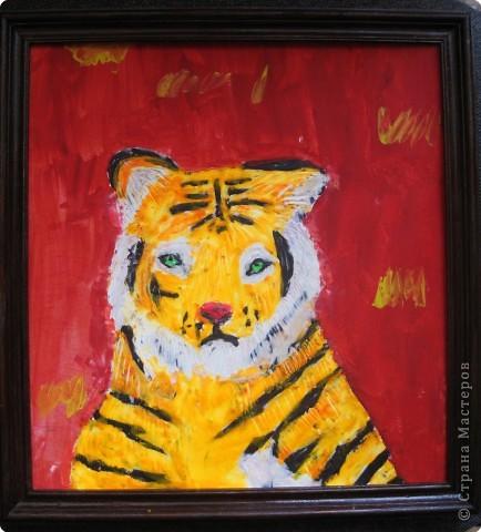 Портрет тигренка
