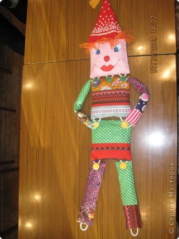 Клоун весельчак!!!! Может поднимать руки ноги в разные стороны и сгинать  фото 1