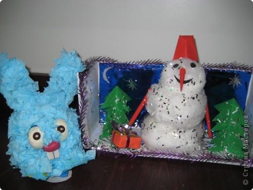 Снеговик и Крош