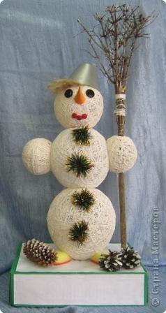 Мой снеговик. фото 1