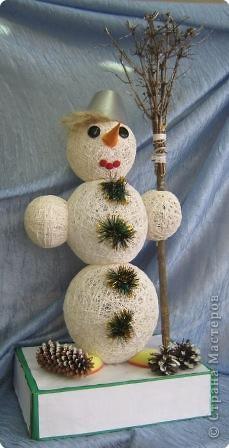 Мой снеговик. фото 2