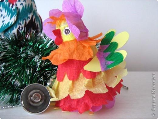 Петушок и курочка - подарок для школьной елки. фото 2