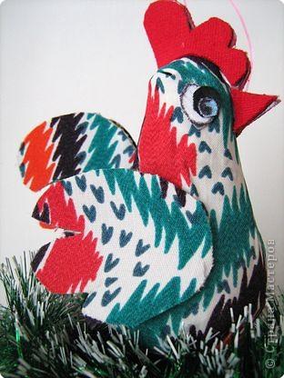 Петушок и курочка - подарок для школьной елки. фото 3