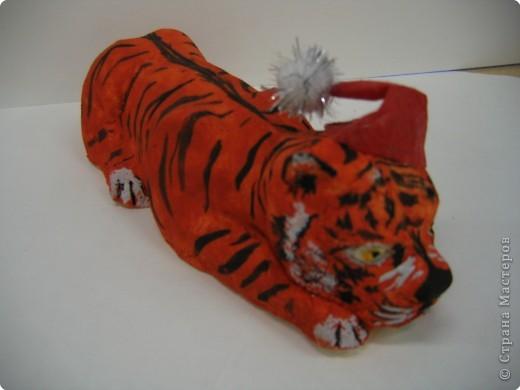 До Нового Года осталось совсем немного. Тигр-р-руля 2010 ждет, когда куранты пробьют полночь... фото 1